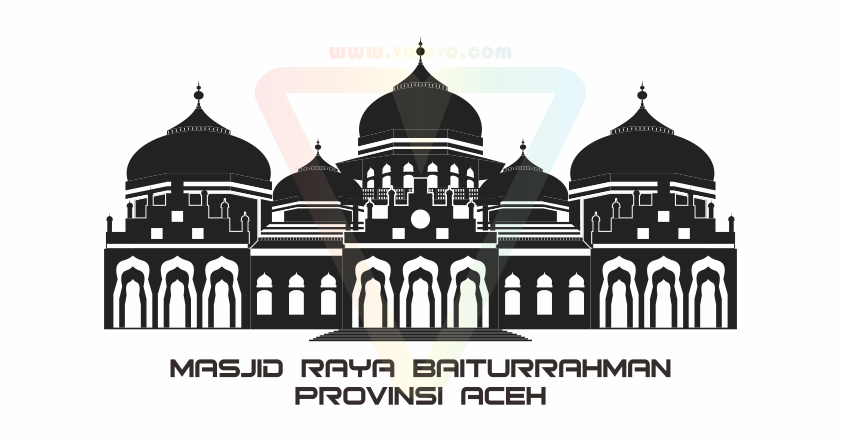 Kaligrafi Masjid Vector - Gallery Islami Terbaru