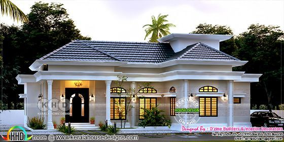 As per D'Zine Builders this beautiful house can be built in INR 42 lakhs