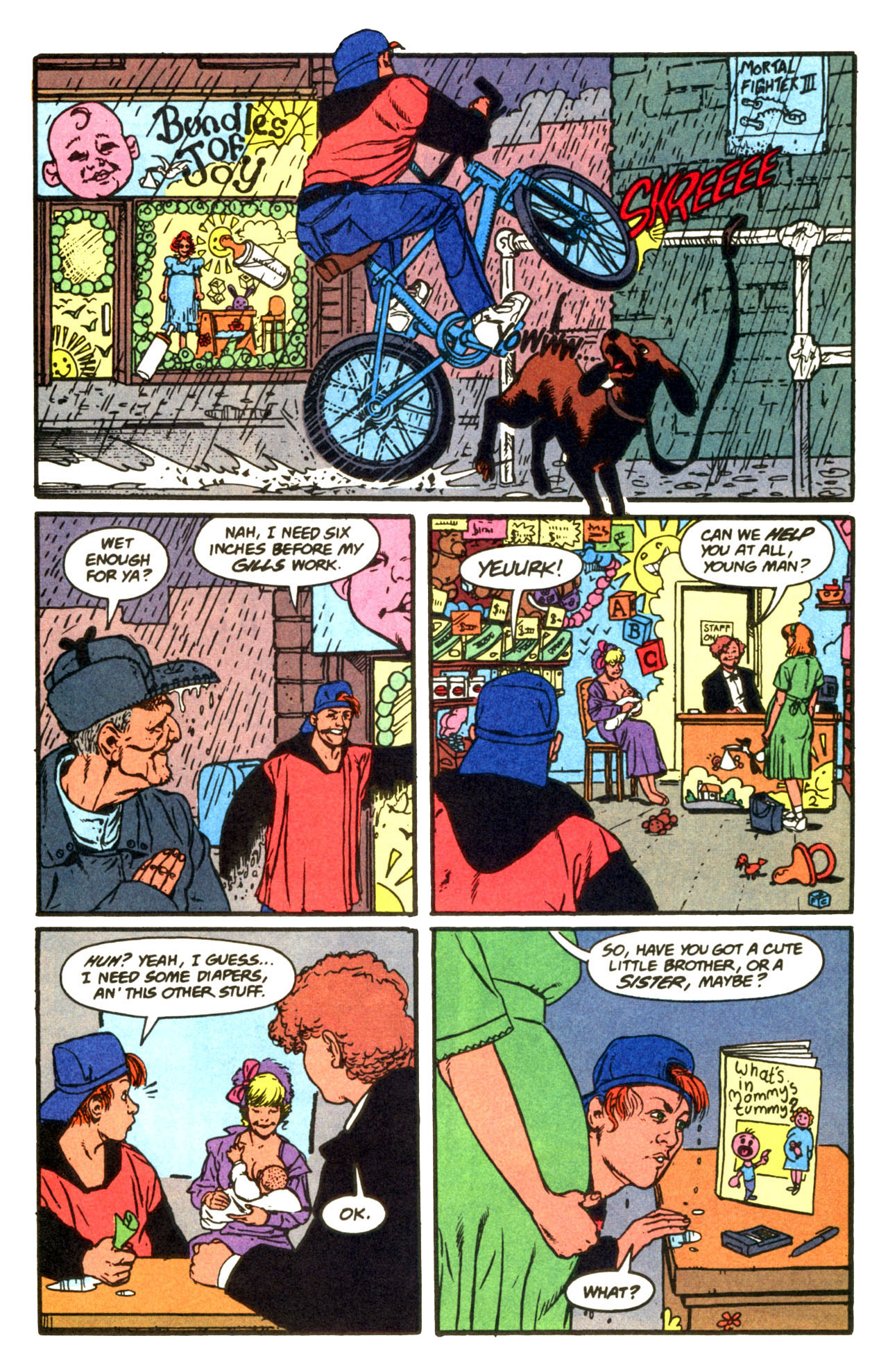 Read online Animal Man (1988) comic -  Issue #67 - 14