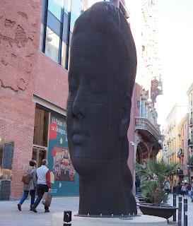 Carmela / Jaume Plensa (Barcelona) per Teresa Grau Ros