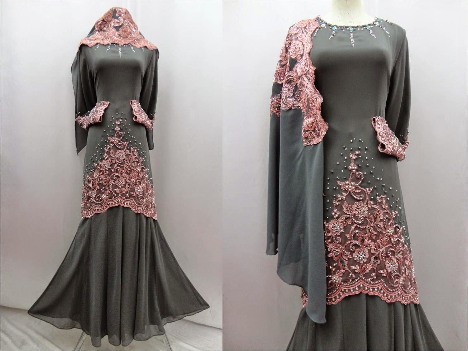 BUTIK FEMINANI Baju Kurung Moden FD Design Kod DFH 909