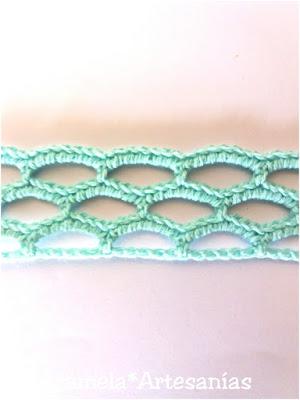 choker de puntilla de crochet tutorial 7