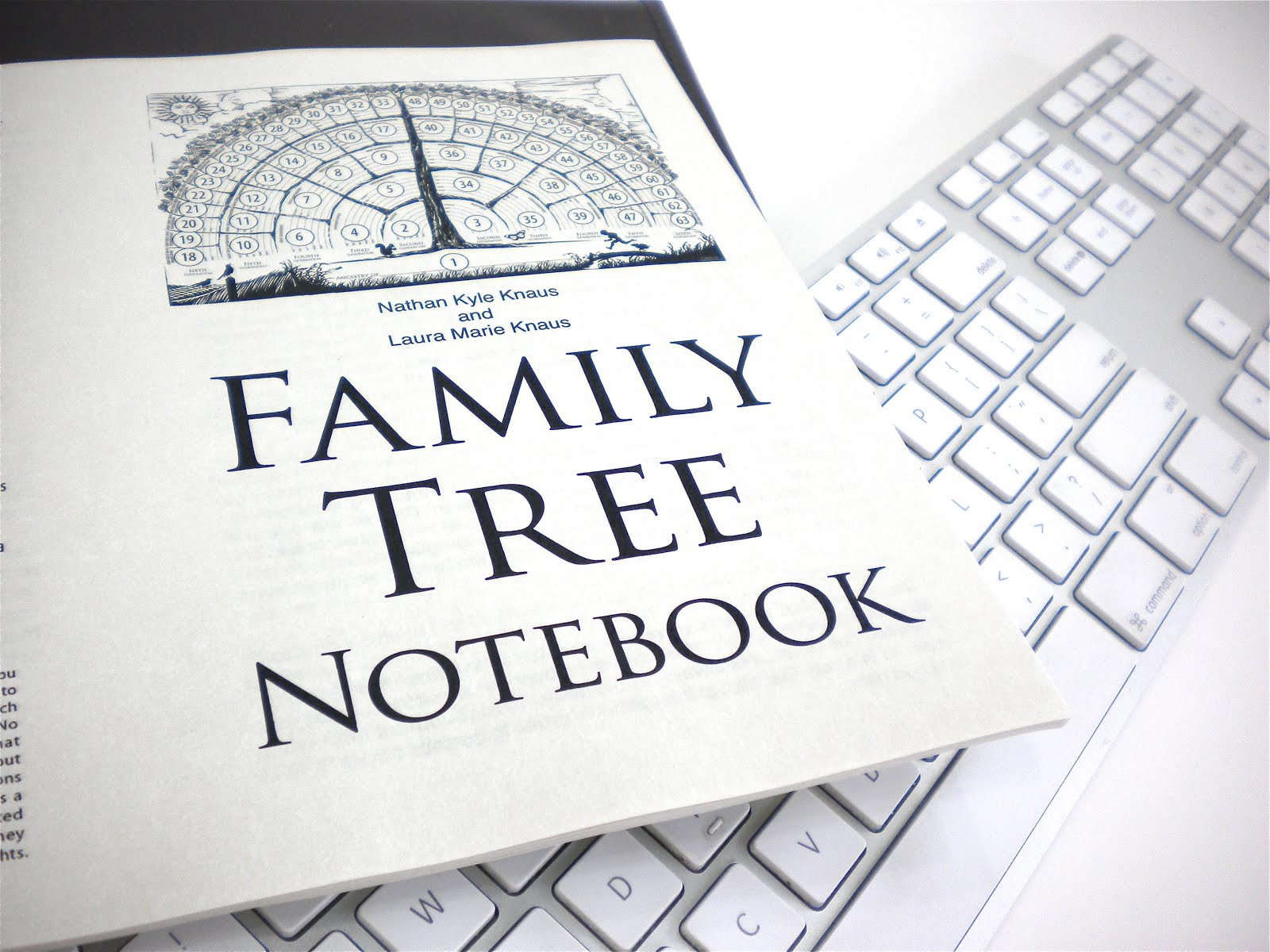 Family Tree Notebook Ebook Edition