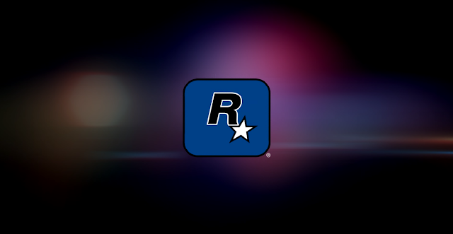 opening dari game Rockstar Games. (huruf R)