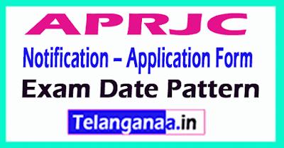 APRJC Notification – Application Form Exam Date Pattern
