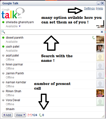 Google talk Beta: best window application for online chatting and video calling how to use