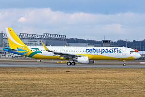1st A321 for Cebu