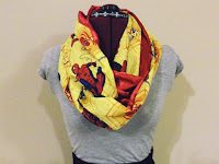 Spiderman Infinity Scarves