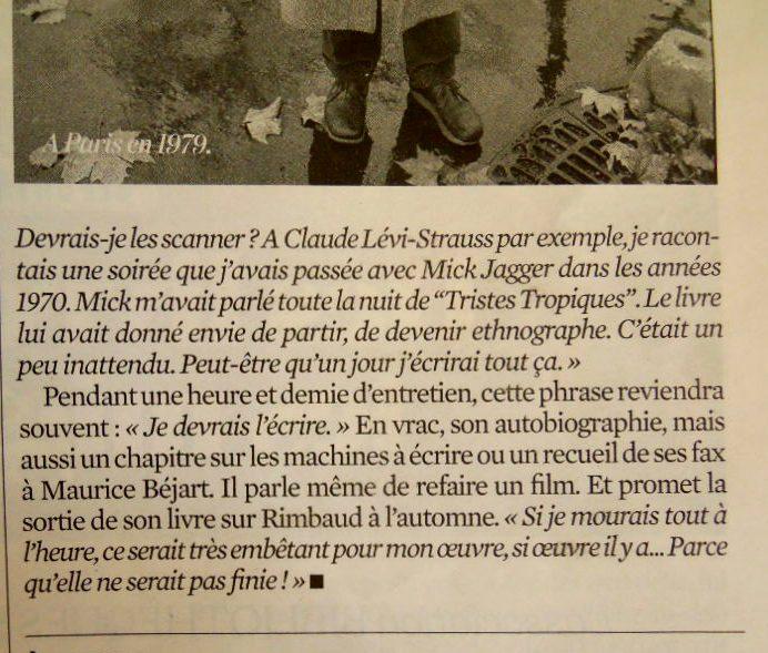 Je suis heureux de faire partie d'un tel projet  »: François