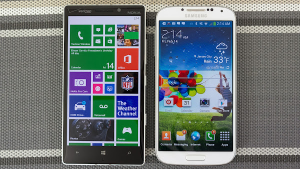 Nokia Lumia Icon vs. Samsung Galaxy S4