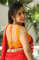 Lasya Cute Beauty in Saree Backless Choli at her Interview ~  Exclusive 063.JPG