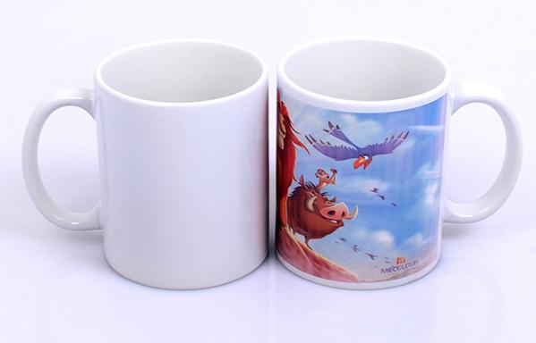 caneca personalizada em porcelana branca 2 - Canecas Diferentes Criativas e Personalizadas