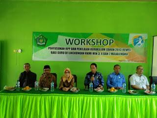 Kasi Penmad Majalengka Buka Workhshop Penyusanan RPP dan Penilaian K13  Revisi