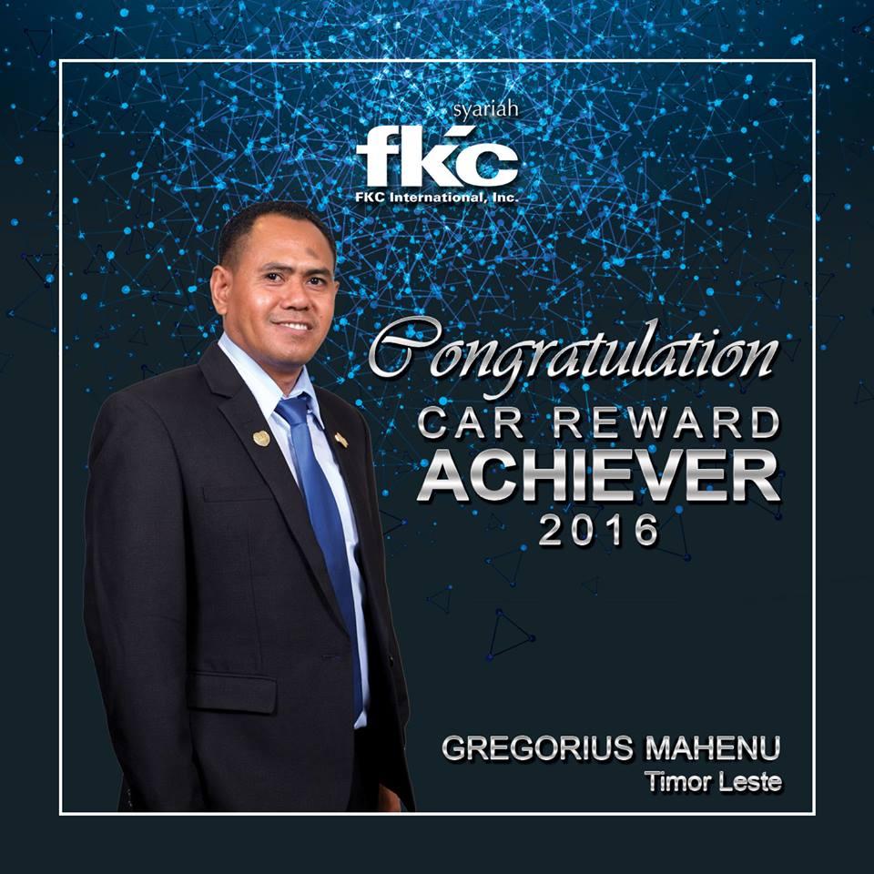 Bisnis Fkc Syariah - Reward Gregorius Mahenu