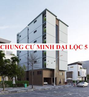 Chung cư mini Minh Đại Lộc 5 có Sổ Hồng cho vay ngân hàng