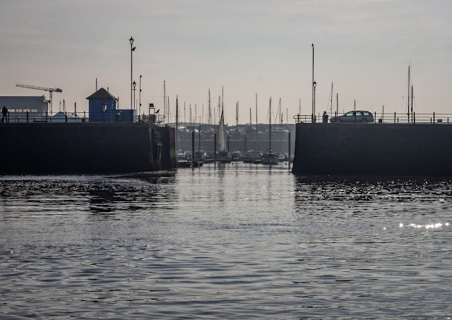 Photo of Maryport Marina sea gate from the basin