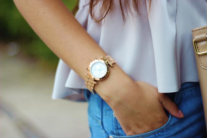 klaus kobec rose gold watch