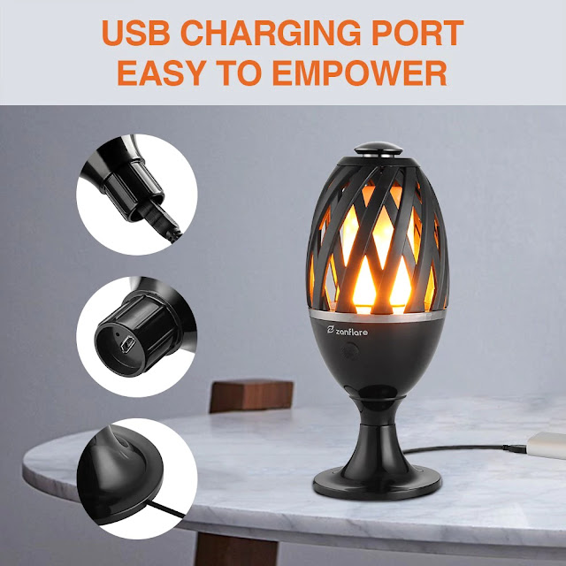 Coupon zanflare U19 LED Flame Lamp