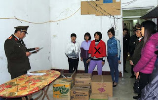 Bắt tạm giam, khám xét nơi ở của Trần Thị Nga