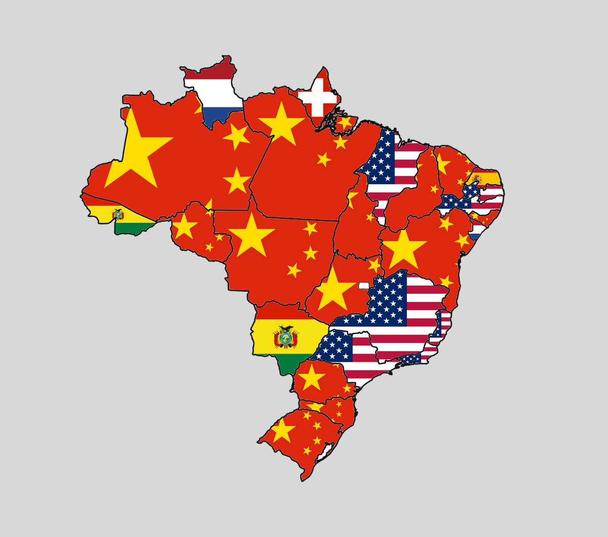 O Maior Parceiro Comercial de Cada Estado Brasileiro