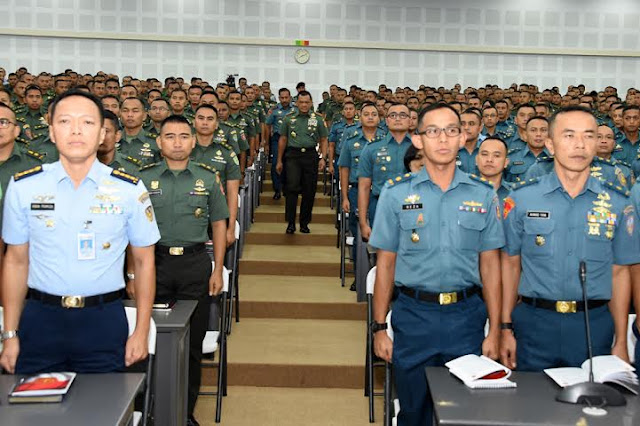 Panglima TNI : Generasi Penerus TNI Harus Sensitif Terhadap Isu Global