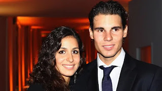Rafael Nadal announced his marriage