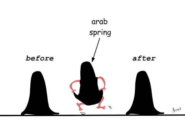 funny arab spring religious cartoon picture