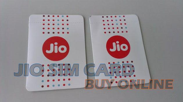 Jio Sim Card Reliance 4G Jio Sim Card Buy Online Free