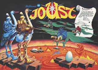 Arcade Joust - 1982