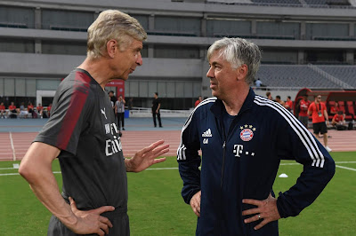 Wenger Wanted Carlo Ancelotti to Replace Him at Arsenal