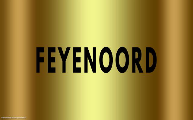Gouden Feyenoord wallpaper