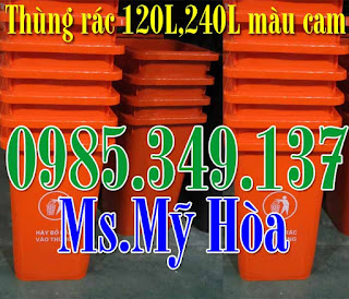 thung rac 240 lit