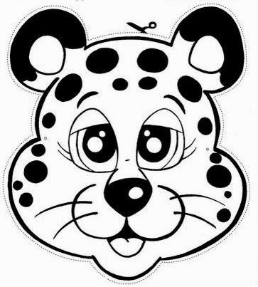 Máscaras de Animales para Imprimir Gratis. | Ideas y material gratis ...