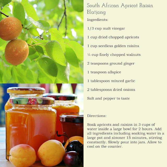 South African Soft Fruit Spread Apricot Raisin Recipe