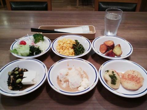 健康サラダバーランチ¥647-1 ステーキガスト一宮尾西店12回目