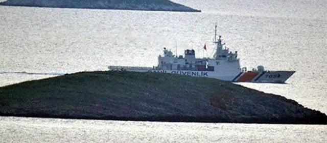 Ολοκληρώθηκε η αποχώρηση των τουρκικών δυνάμεων από τα Ίμια - Συνάντηση Έλληνα και Τούρκου Α/ΓΕΕΘΑ