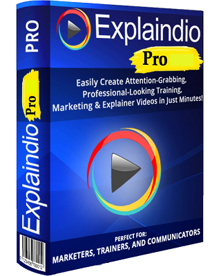 Explaindio Video Creator Platinum 3.038 poster box cover