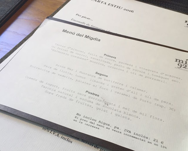 Mil921-menu