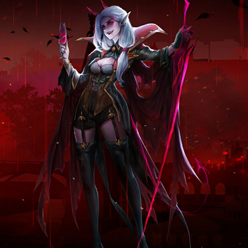 Vampire - Dark Countess Wallpaper Engine