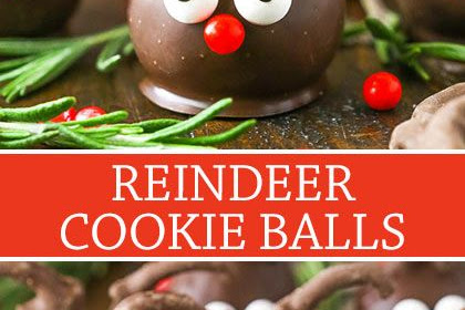 REINDEER COOKIE BALLS