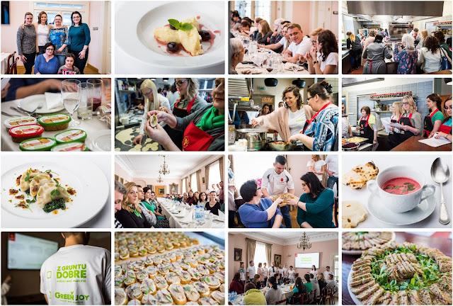 Z gruntu dobre - warsztaty kulinarne z firmą Sokołów i nowa linia produktów