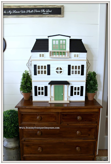 Cottage -Farmhouse- Foyer-Doll House-Hearth & Hand-Shiplap-Joanna Gaines-From My Front Porch To Yours