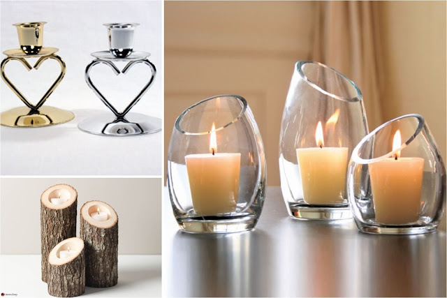 Modern Candle Holders For More Romantic Interior Designs
