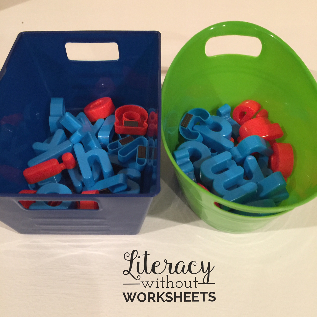 Organizing Magnetic Letters