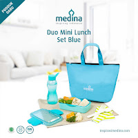 Dusdusan Duo Mini Lunch Set Blue ANDHIMIND