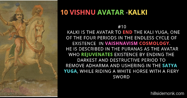 10 Vishnu Avatar In Hinduism-KALKI