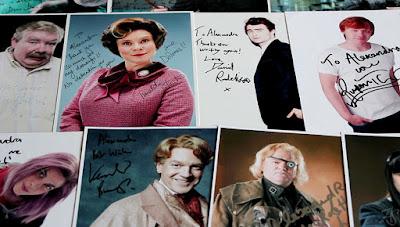 Autografy obsady serii Harry Potter