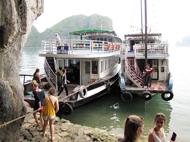 our ferry boat halong bay vietnam