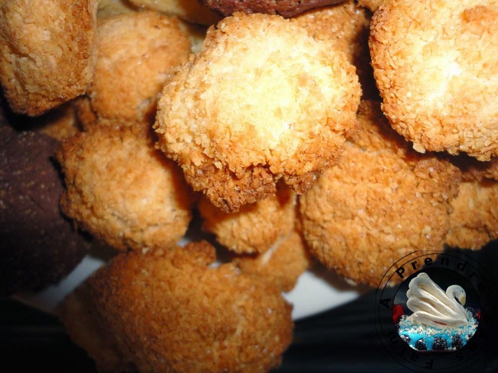 Macarons anglais à la noix de coco
