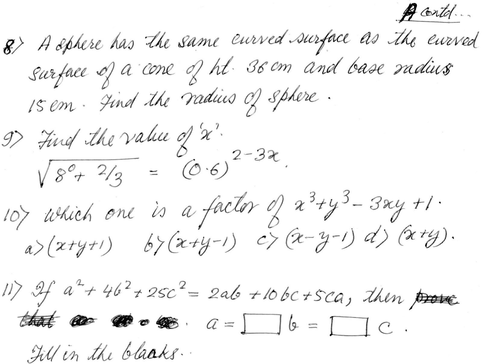 Ipm test practice paper std viii also preparations for mtse olympiad mat scholarshipcbse icse rh state scholarshipspot